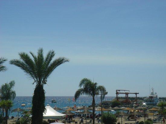 St Raphael Resort: View of the beach