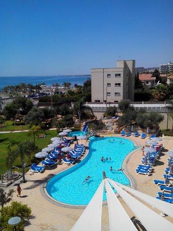 St Raphael Resort: Pool View
