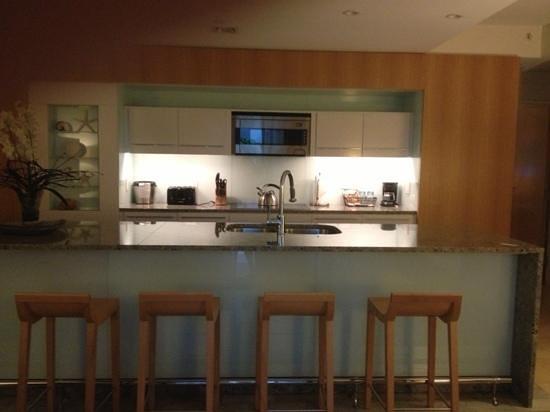 Santa Maria Suites: Cocina.