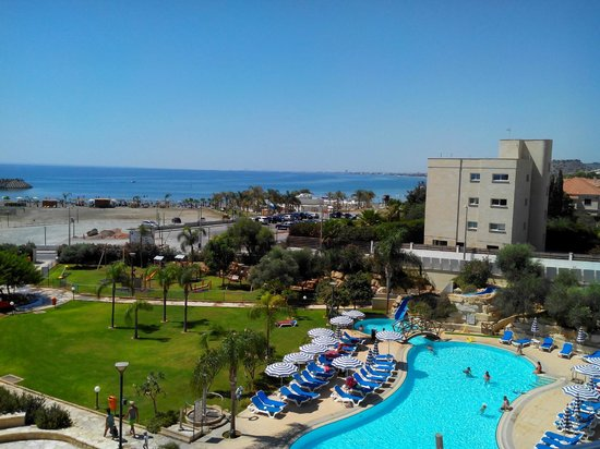 St Raphael Resort: View from the room