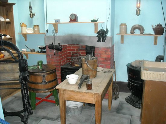Guildhall Museum: Victorian Kitchen Display Conservancy Board Building