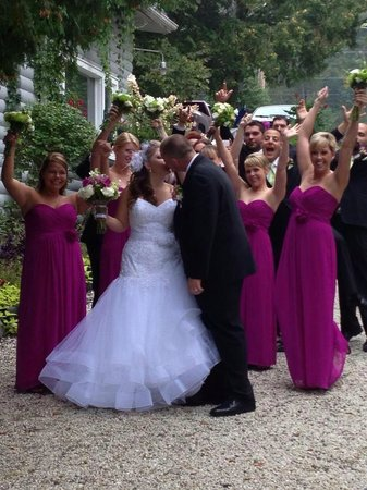 Bonnie View Inn : Beautiful photo opportunities for your Wedding weekend