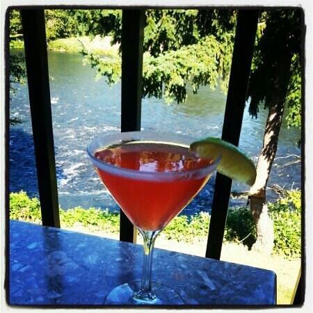 River's Edge : pink margaritas. ......amazing