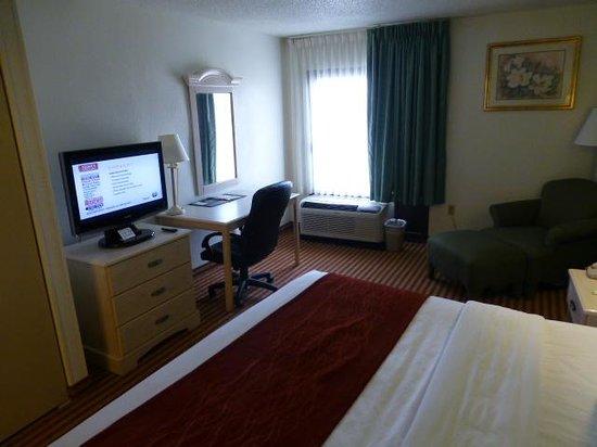 Comfort Inn - Pensacola / N Davis Hwy: Room view