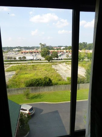 Comfort Inn - Pensacola / N Davis Hwy : Window view from 5th floor north