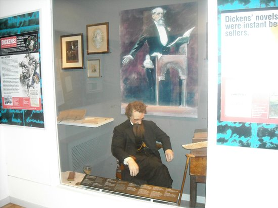 Guildhall Museum: Dickens in a Nutshell Gallery