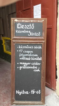 Eleszto Craft Beer Bar