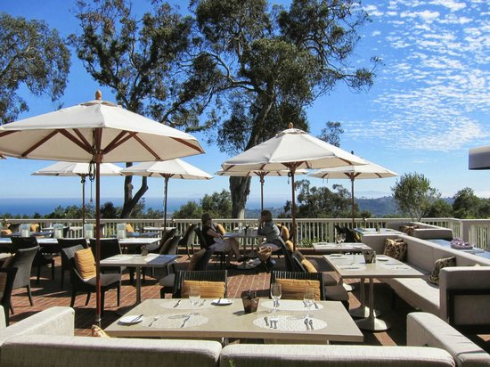 The Dining Room And Terrace At El Encanto