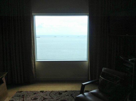 Hyatt Regency Trinidad: View from Living Area of Suite
