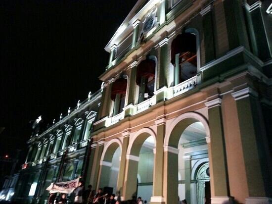 Palacio Municipal de Cordoba: El Palacio en septiembre