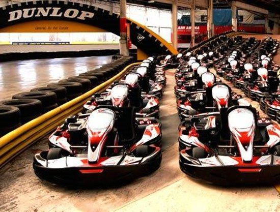 Team sport go karting warrington