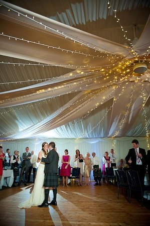Carnbooth House Hotel: Setting for 1st Dance