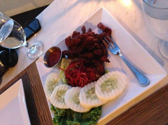 Panlaan Thai on the Bay: Moo tod samun pri.