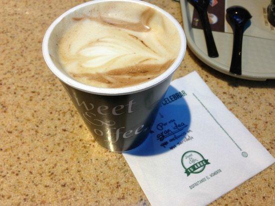 Sweet & Coffee : Servilleta con diseño y publicidad