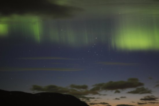 Countryhotel Sveinbjarnargerdi: The Aurora