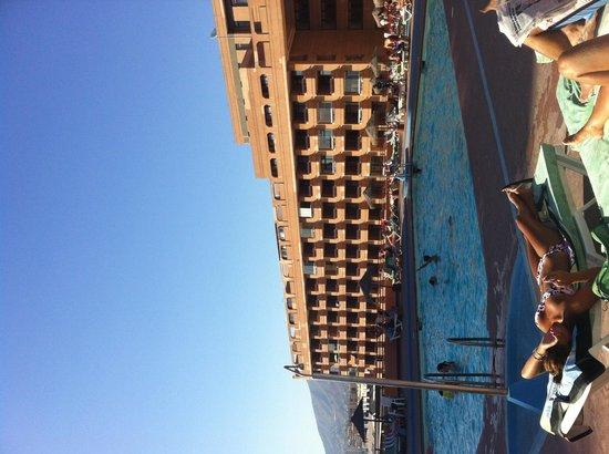 Hotel Las Palmeras : The pool