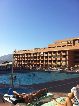 Hotel Las Palmeras: The pool
