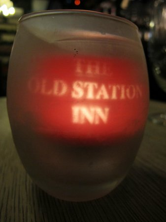 The Old Station Inn: The nice touches....