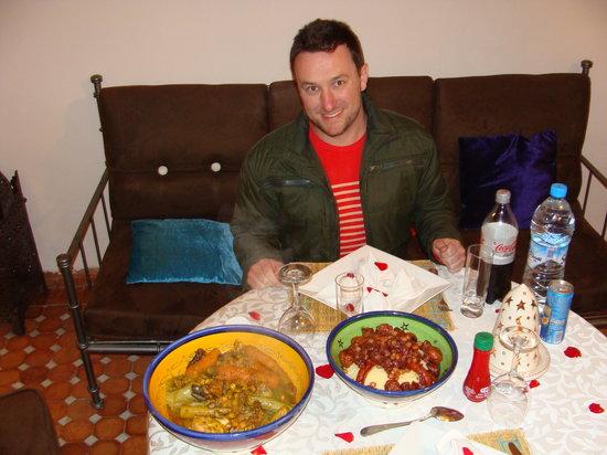 Riad Helen: Jantar fabuloso, preparado pela querida Fatiha!