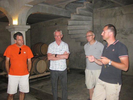 La Madelene: an a tour at a wine Chateau