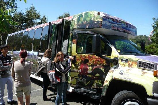 Extranomical Tours: Extranomical Wine Tour....Marc's bus !