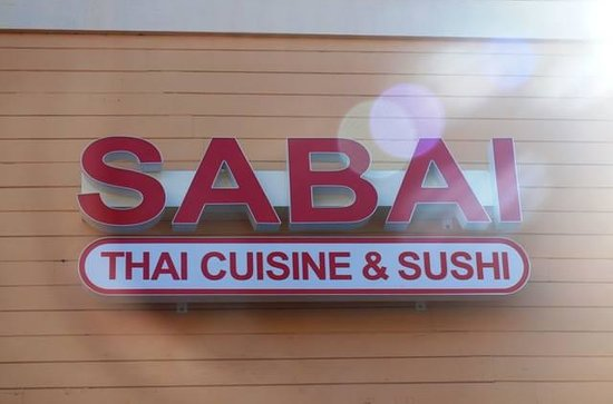 ‪Sabai Thai Cuisine and Sushi‬