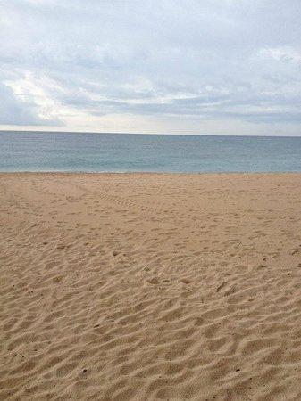 Camping Caballo de Mar: vue de la terrasse