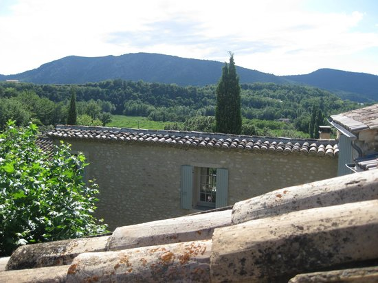 La Madelene : the view from the patio