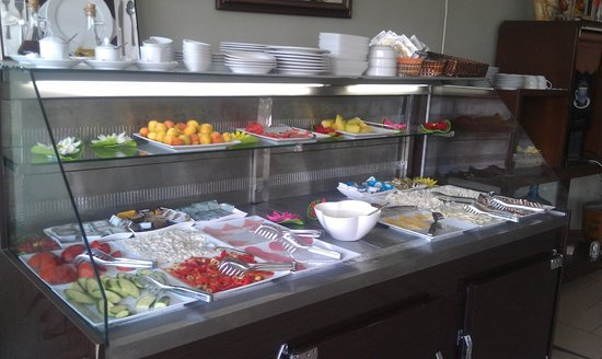 Artefes Hotel Istanbul: One corner of the morning spread