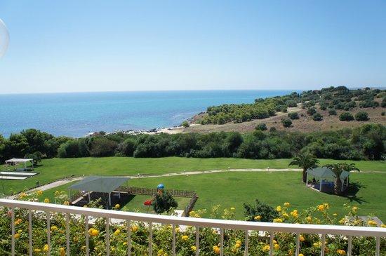 Club Marmara Cala Regina : vue de la terrasse du restaurant