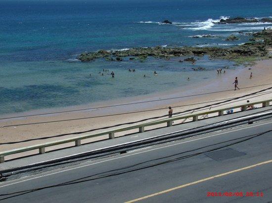 Oceanico Ondina Hotel: Vista do quarto