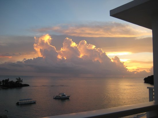 Couples Tower Isle: sunset from room