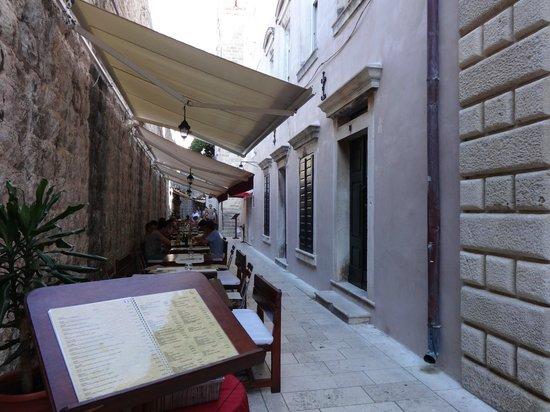 Pizzeria & Spaghetteria Storia : Pizza & Spagetteria Storia restaurant, Old Town Dubrovnik