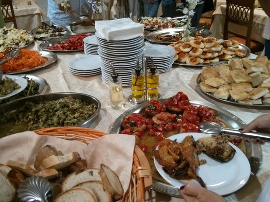 Family Spa Hotel Le Canne: buffet antipasto