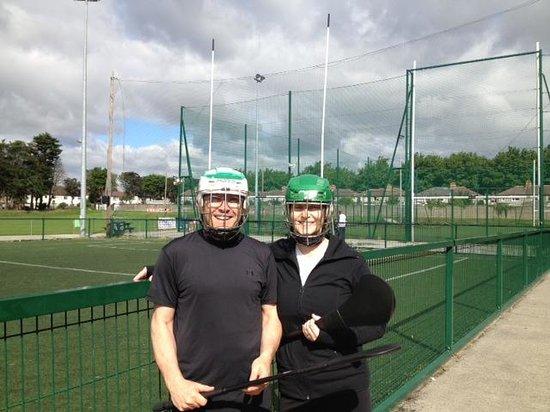Experience Gaelic Games: Dublin Hurling Gear