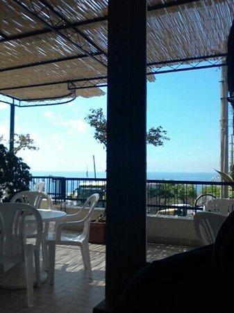 Hotel Piccolo Paradiso: sulla terrazza