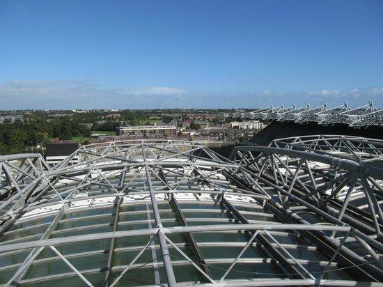 Etihad Skyline Tour Croke Park Stadium: view above