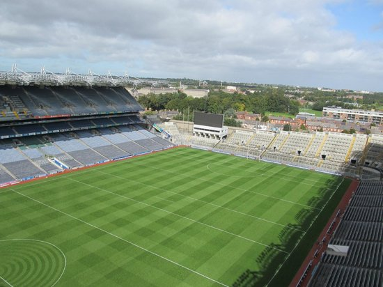 Etihad Skyline Tour Croke Park Stadium: pitch