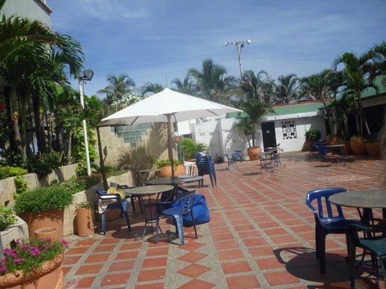 Hotel Dorado Plaza: el patio de recreacion