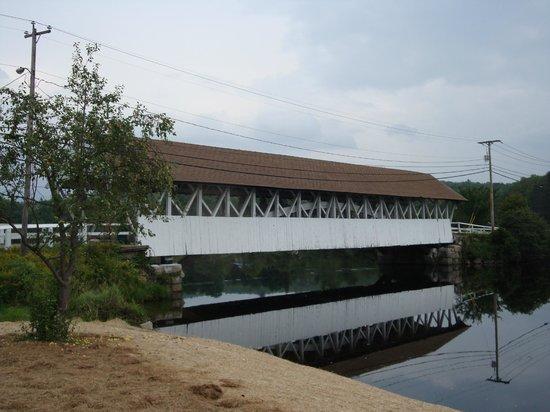 Groveton, NH : Non motored covered bridge.