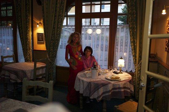 Hostellerie du Bois : Marina et Bao, un dîner délicieux !