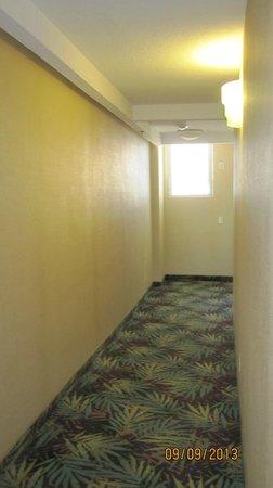Waikiki Resort Hotel: Part of my hotel floor