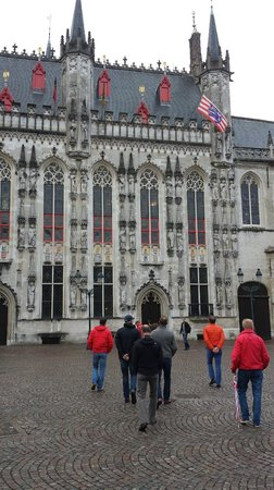 Historic Centre of Brugge: Towards city hall