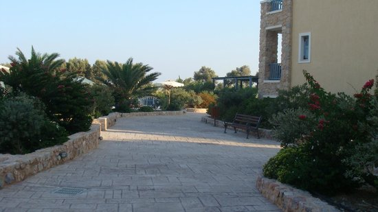 Santo Miramare Resort: La struttura