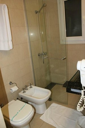 Gran Hotel Argentino: banheiro
