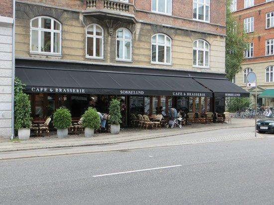 Sokkelund Cafe & Brasserie : Street view
