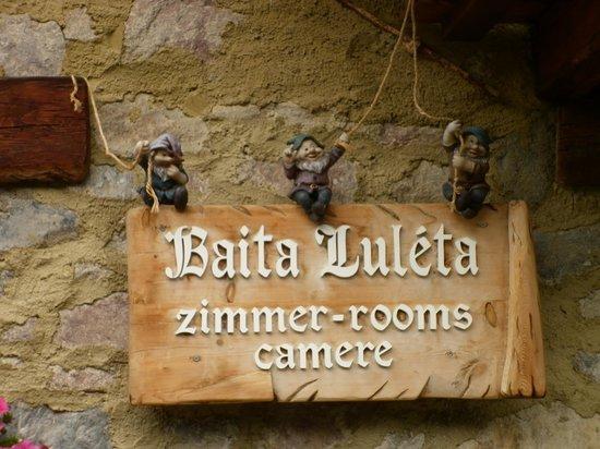 Baita Luleta: insegna