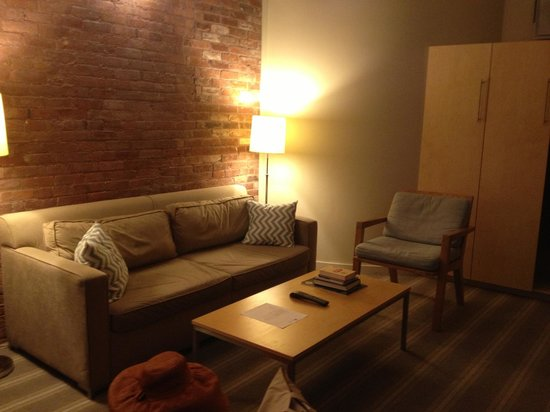 Mill Street Inn : Sitting area