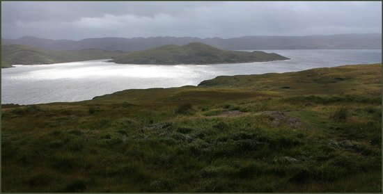 Ardvreck Castle: The journey west from Ardvreck