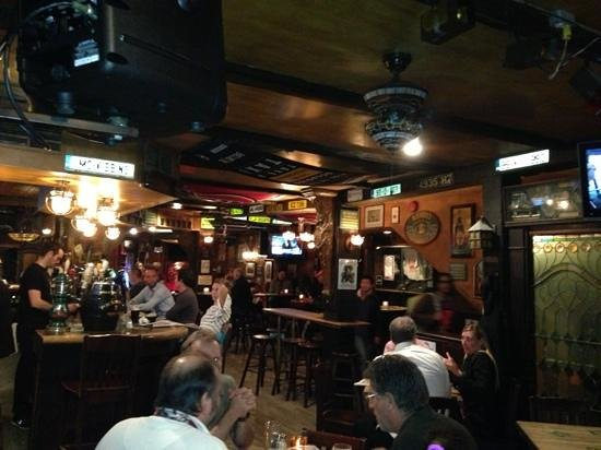 Mckibbin's: tuesday evening